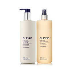 Elemis SUPERSIZE Soothing Cleanser & Toner Duo