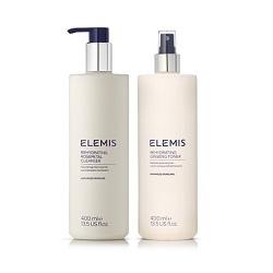 Elemis SUPERSIZE Rehydrating Cleanser & Toner Duo