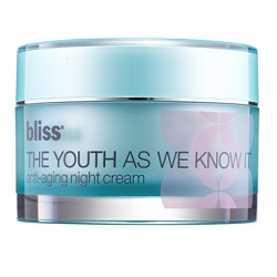Bliss The Youth As We Know It Anti-Ageing Night Cream