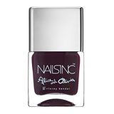 Nails Inc Alice & Olivia Midnight Merlot Nail Polish