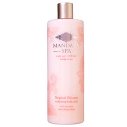 Mandara Spa Tropical Blooms Softening Milk Bath