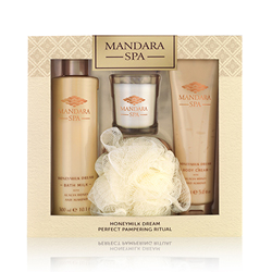 Mandara Spa Honeymilk Dream Perfect Pampering Ritual Gift Set